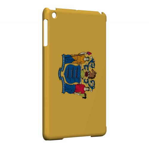 New Jersey - Geeks Designer Line Flag Series Hard Back Case for Apple iPad Mini