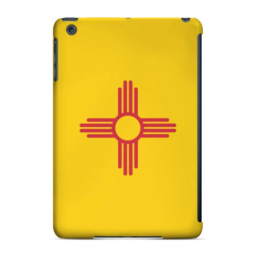 New Mexico - Geeks Designer Line Flag Series Hard Back Case for Apple iPad Mini