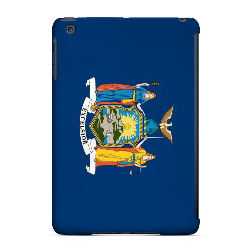 New York - Geeks Designer Line Flag Series Hard Back Case for Apple iPad Mini