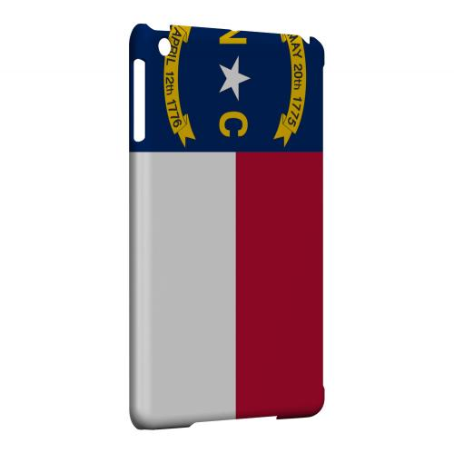 North Carolina - Geeks Designer Line Flag Series Hard Back Case for Apple iPad Mini