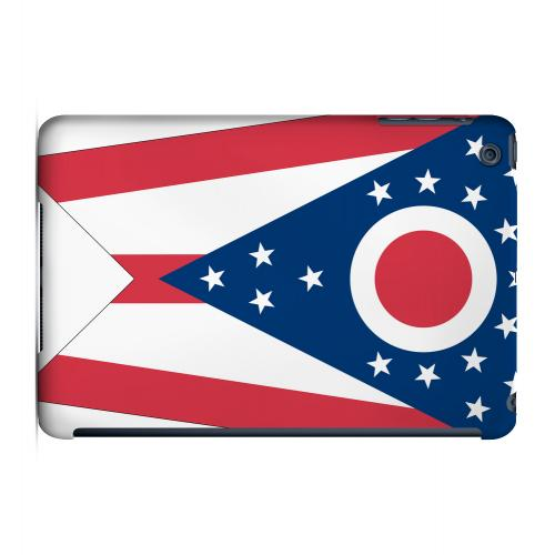 Ohio - Geeks Designer Line Flag Series Hard Back Case for Apple iPad Mini