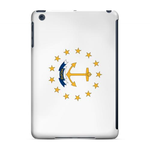 Rhode Island - Geeks Designer Line Flag Series Hard Back Case for Apple iPad Mini