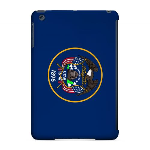 Utah - Geeks Designer Line Flag Series Hard Back Case for Apple iPad Mini