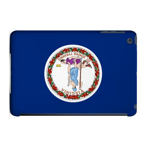 Virginia - Geeks Designer Line Flag Series Hard Back Case for Apple iPad Mini