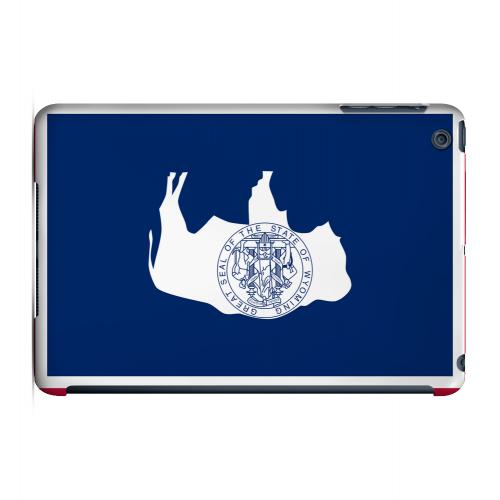 Wyoming - Geeks Designer Line Flag Series Hard Back Case for Apple iPad Mini