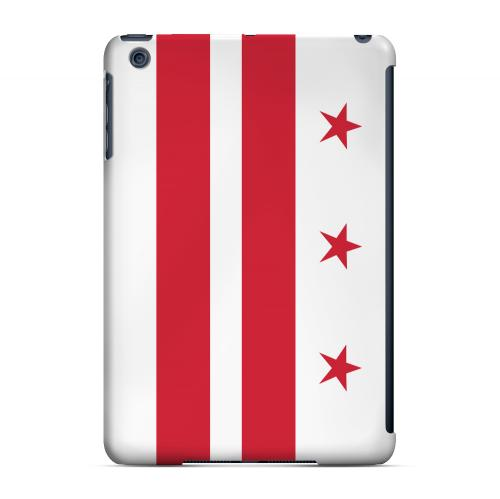 Washington, D.C. - Geeks Designer Line Flag Series Hard Back Case for Apple iPad Mini