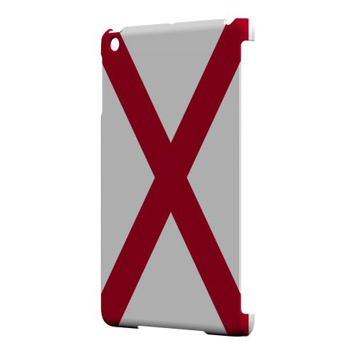 Alabama - Geeks Designer Line Flag Series Hard Back Case for Apple iPad Mini