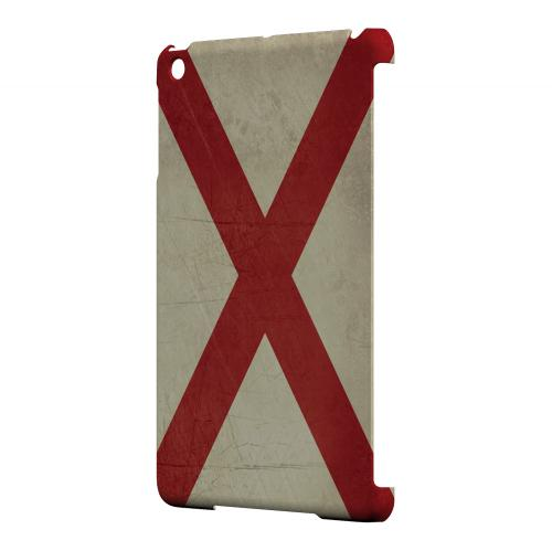 Grunge Alabama - Geeks Designer Line Flag Series Hard Case for Apple iPad Mini