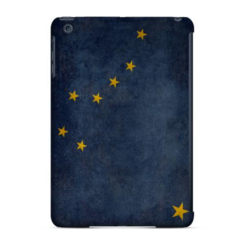 Grunge Alaska - Geeks Designer Line Flag Series Hard Case for Apple iPad Mini