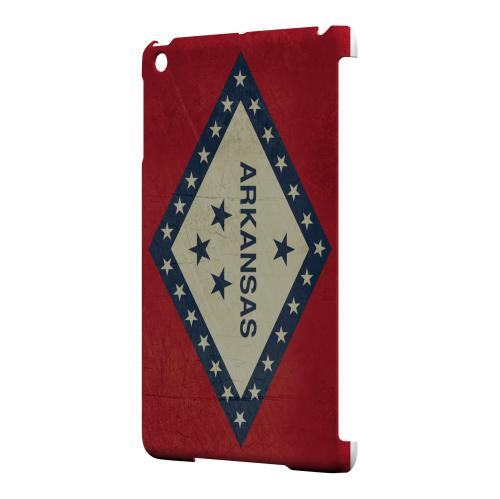 Grunge Arkansas - Geeks Designer Line Flag Series Hard Case for Apple iPad Mini