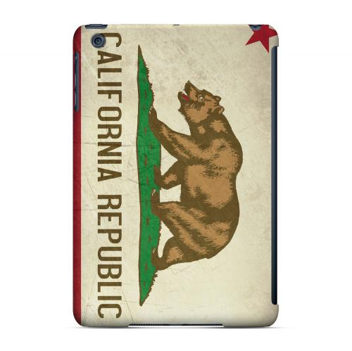Grunge California - Geeks Designer Line Flag Series Hard Case for Apple iPad Mini