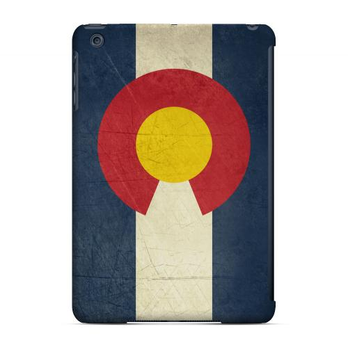 Grunge Colorado - Geeks Designer Line Flag Series Hard Case for Apple iPad Mini