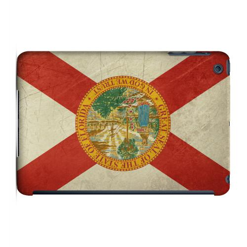 Grunge Florida - Geeks Designer Line Flag Series Hard Case for Apple iPad Mini