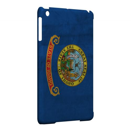 Grunge Idaho - Geeks Designer Line Flag Series Hard Case for Apple iPad Mini
