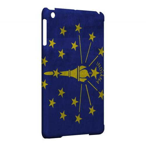 Grunge Indiana - Geeks Designer Line Flag Series Hard Case for Apple iPad Mini