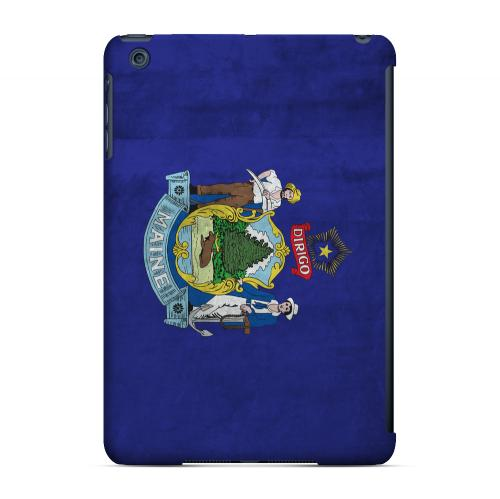 Grunge Maine - Geeks Designer Line Flag Series Hard Case for Apple iPad Mini