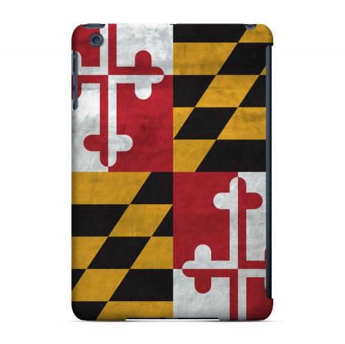 Grunge Maryland - Geeks Designer Line Flag Series Hard Case for Apple iPad Mini