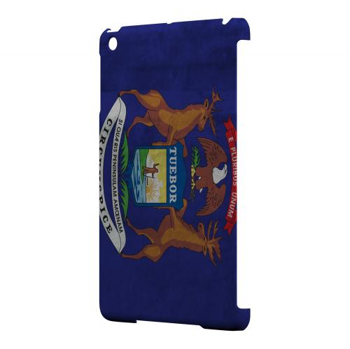 Grunge Michigan - Geeks Designer Line Flag Series Hard Case for Apple iPad Mini