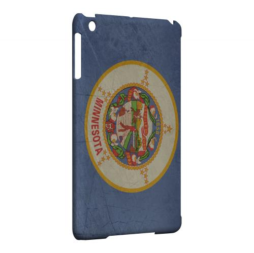 Grunge Minnesota - Geeks Designer Line Flag Series Hard Case for Apple iPad Mini