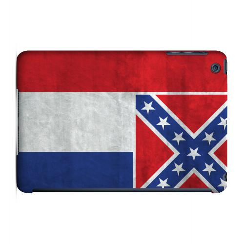 Grunge Mississippi - Geeks Designer Line Flag Series Hard Case for Apple iPad Mini