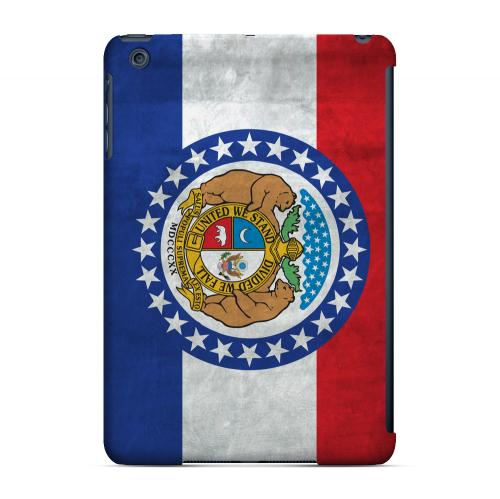 Grunge Missouri - Geeks Designer Line Flag Series Hard Case for Apple iPad Mini