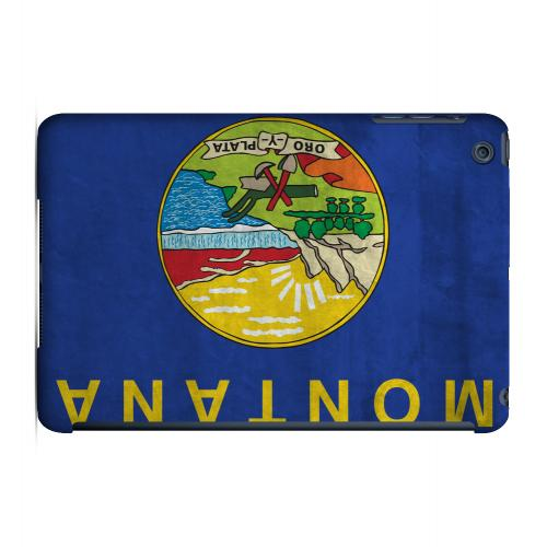 Grunge Montana - Geeks Designer Line Flag Series Hard Case for Apple iPad Mini