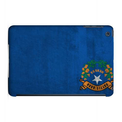 Grunge Nevada - Geeks Designer Line Flag Series Hard Case for Apple iPad Mini