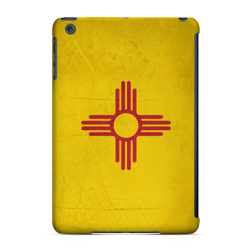 Grunge New Mexico - Geeks Designer Line Flag Series Hard Case for Apple iPad Mini