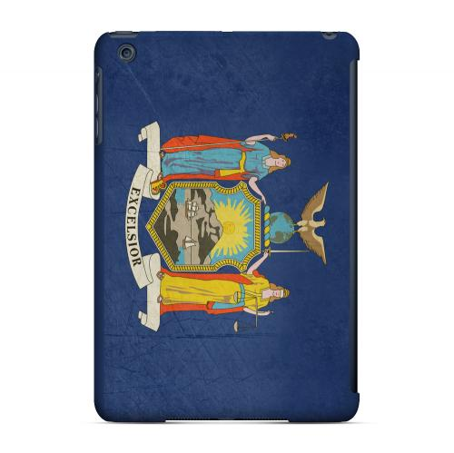 Grunge New York - Geeks Designer Line Flag Series Hard Case for Apple iPad Mini