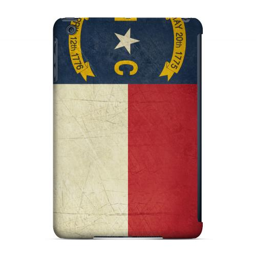 Grunge North Carolina - Geeks Designer Line Flag Series Hard Case for Apple iPad Mini