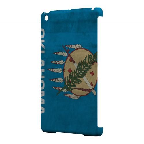 Grunge Oklahoma - Geeks Designer Line Flag Series Hard Case for Apple iPad Mini
