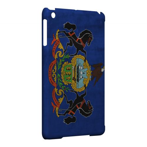Grunge Pennsylvania - Geeks Designer Line Flag Series Hard Case for Apple iPad Mini