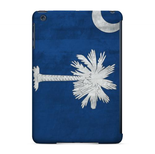 Grunge South Carolina - Geeks Designer Line Flag Series Hard Case for Apple iPad Mini