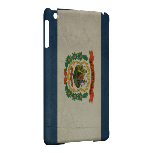 Grunge West Virginia - Geeks Designer Line Flag Series Hard Case for Apple iPad Mini