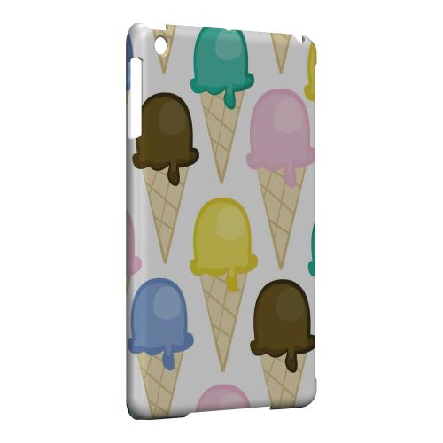 Geeks Designer Line (GDL) Slim Hard Case for Apple iPad Mini - Assorted Ice Cream Cones