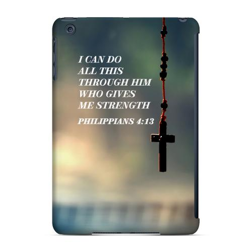 Geeks Designer Line (GDL) Slim Hard Case for Apple iPad Mini - Philippians 4:13