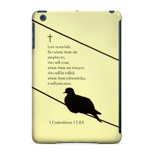 Geeks Designer Line (GDL) Slim Hard Case for Apple iPad Mini - Corinthians 13:8A