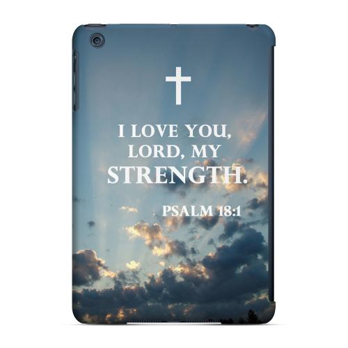 Geeks Designer Line (GDL) Slim Hard Case for Apple iPad Mini - Psalm 18:1