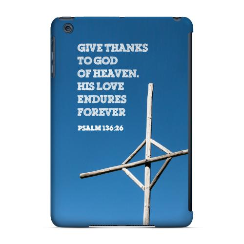 Geeks Designer Line (GDL) Slim Hard Case for Apple iPad Mini - Psalm 136:26