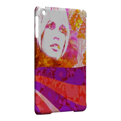 Geeks Designer Line (GDL) Slim Hard Case for Apple iPad Mini - Flowerchild
