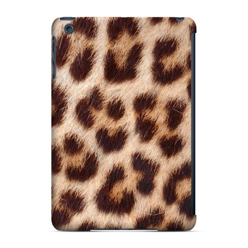 Geeks Designer Line (GDL) Slim Hard Case for Apple iPad Mini - Leopard Close-Up