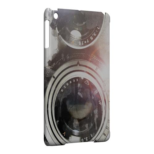 Geeks Designer Line (GDL) Slim Hard Case for Apple iPad Mini - White Lens Flare