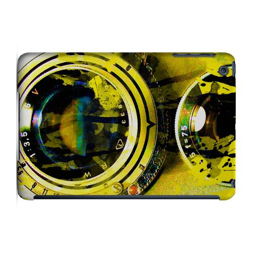 Geeks Designer Line (GDL) Slim Hard Case for Apple iPad Mini - Chaotic Yellow Camera