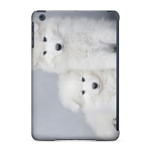Geeks Designer Line (GDL) Slim Hard Case for Apple iPad Mini - Samoyed Puppies