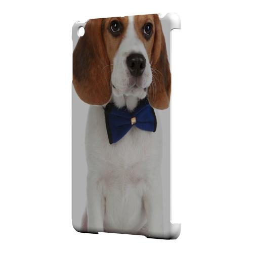 Geeks Designer Line (GDL) Slim Hard Case for Apple iPad Mini - Beagle with Bow Tie