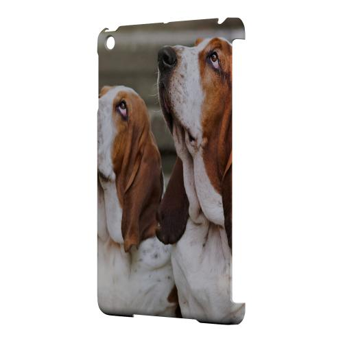 Geeks Designer Line (GDL) Slim Hard Case for Apple iPad Mini - Bassett Hounds