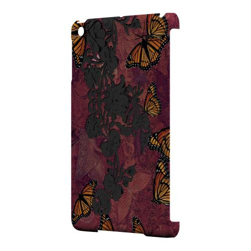 Geeks Designer Line (GDL) Slim Hard Case for Apple iPad Mini - Butterflies on Parade