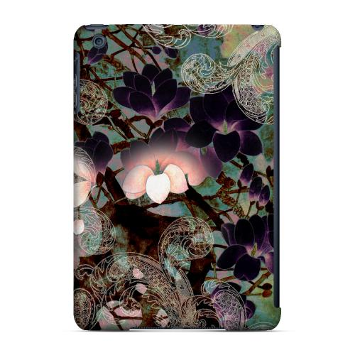 Geeks Designer Line (GDL) Slim Hard Case for Apple iPad Mini - Lacy Flowers