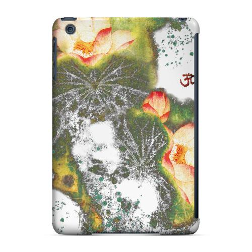 Geeks Designer Line (GDL) Slim Hard Case for Apple iPad Mini - Lotus Flowers