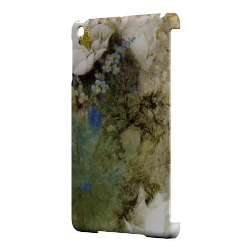 Geeks Designer Line (GDL) Slim Hard Case for Apple iPad Mini - White Lillies